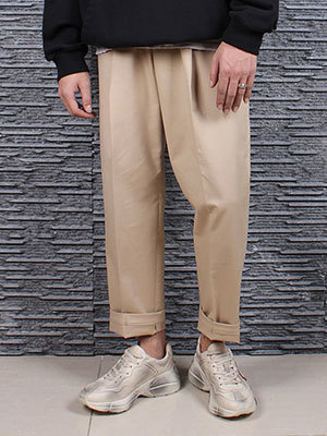 Beige Chino Baggy Pants베이지 치노 배기 팬츠